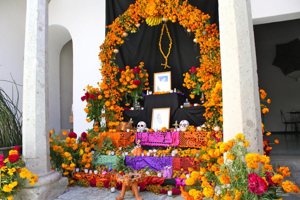 Un día de muertos en Oaxaca (crédito: Gabriel Rendón)