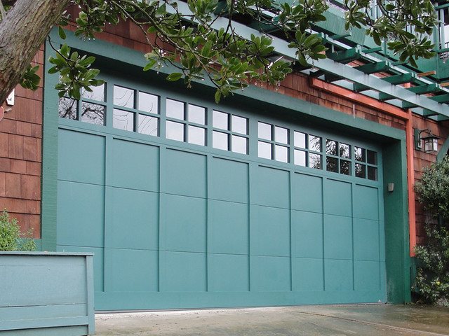 Garage Doors Carriage House Patina Green Flickr Photo
