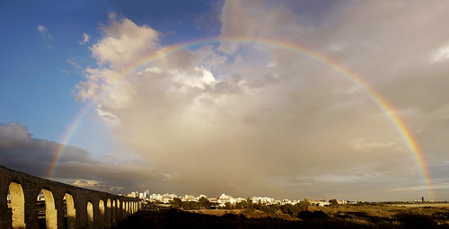 city blue sunset sky panorama nature rain skyline lens landscape lumix town site rainbow arch sundown cyprus arches aqueduct panasonic fields historical after pancake 20mm kamares dmc larnaca larnaka f17 gf1 photographyblog υδραγωγείο ουράνιοτόξο κύπροσ georgestavrinos καμάρεσ λάρνακα micro43 microfourthirds ssjgeorge γιώργοσσταυρινόσ sonyphotochallenge