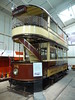 Leicester City Tramways 76, National Tramway Museum, Crich Tramway Village, Derbyshire