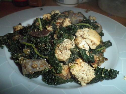 Tofu scramble, again