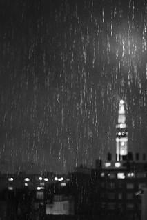 eau photo pluie photo de ville noir et blanc