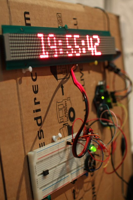 LED display and clock
