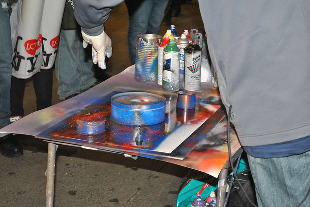 new york street artist spray paint art flickr photo. Black Bedroom Furniture Sets. Home Design Ideas