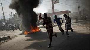 The rebellion in Haiti against the United Nations occupation forces has spread to the capital of Port-au-Prince. A cholera outbreak blamed on UN forces sparked discontent with the continuing exploitation of the masses. by Pan-African News Wire File Photos