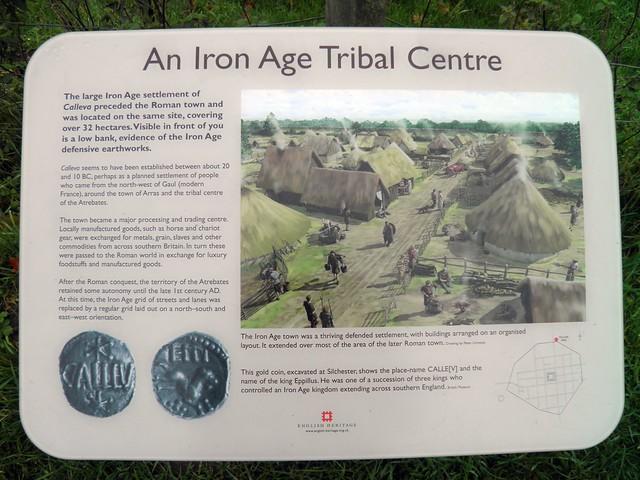 The Iron Age Tribal Center (Panel), Calleva Atrebatum