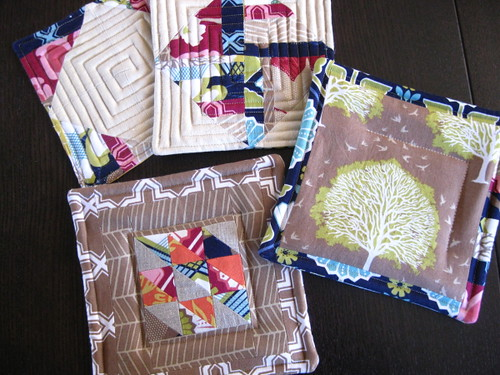 Potholders in Modern Meadow