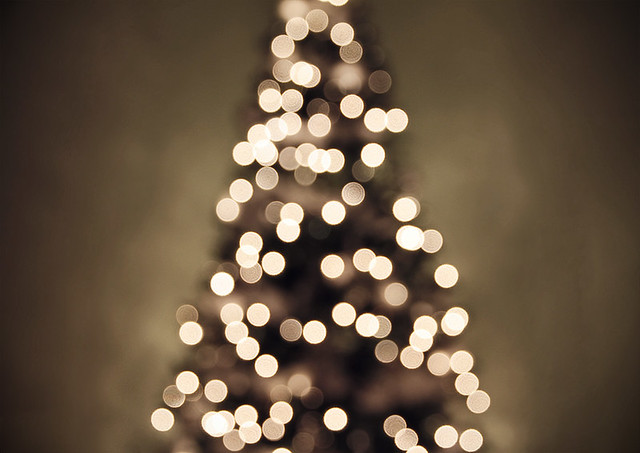 Christmas tree lights II por Shandi-lee Cox