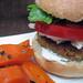 Vegan Chick'n Burger by myveggiekitchen