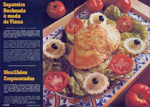 Tele Culinária e Doçaria, Especial Outono, Setembro 1980 - 5