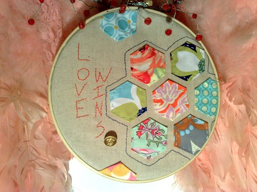 Love Wins - Scrappy {Hoop} from JenniRC. Inkyswot/Flickr