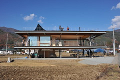 domino house in rice paddy tezuka architects