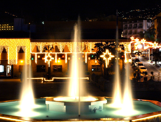 Christmas Lights Puerto de la Cruz, Tenerife