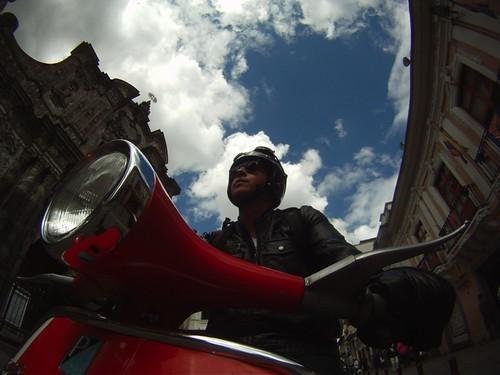 Vespa Ride by Miguel T.