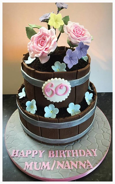 Flower Pot Cake by Cake Escape Ltd