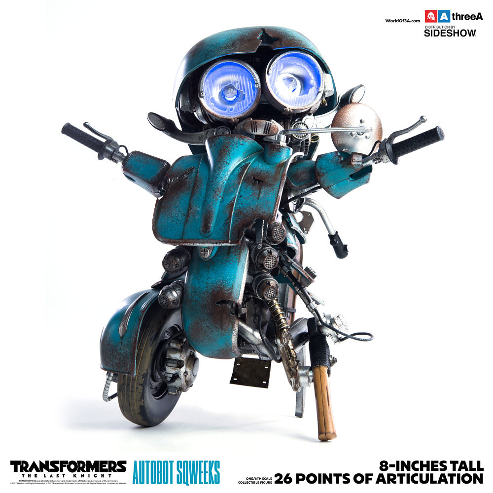 threeA 變形金剛5:最終騎士【小靈通】Transformers: The Last Knight Autobot Sqweeks