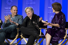 Tim Minear, Kathy Bates and Sarah Paulson