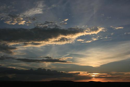 sunset sky holiday print kenya safari backdrop amboseli