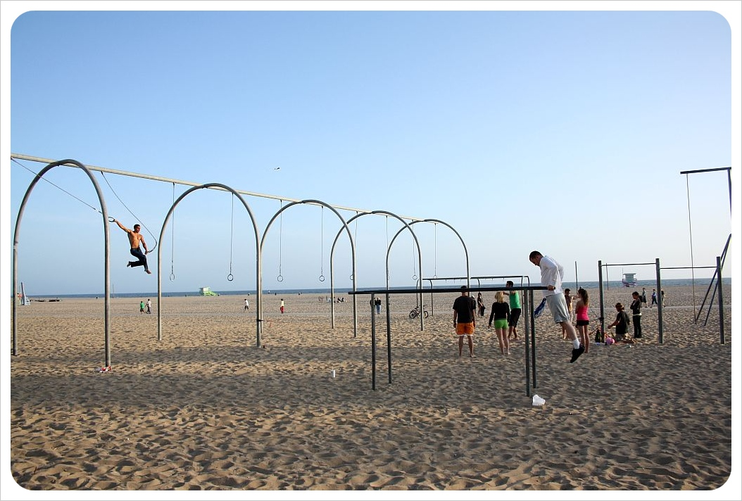 Work out beach