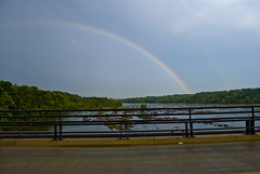 Rainbow Over the James River