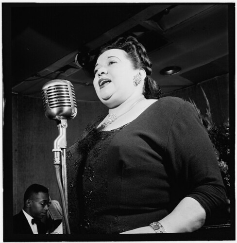 [Portrait of Mildred Bailey, Carnegie Hall(?), New York, N.Y., ca. Apr. 1947] (LOC)