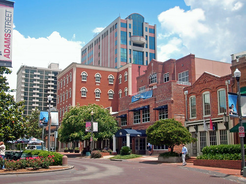 street architecture buildings hotel cafe downtown cityscape florida shops tallahassee commercialbuildings