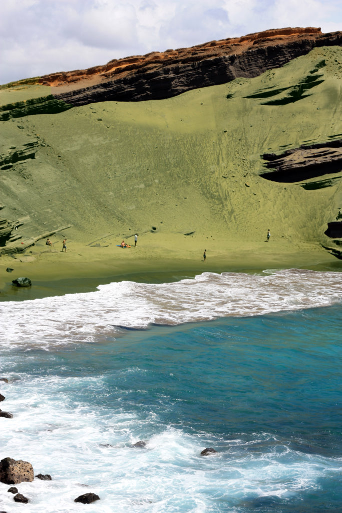 Papakolea (Green Sand Beach)