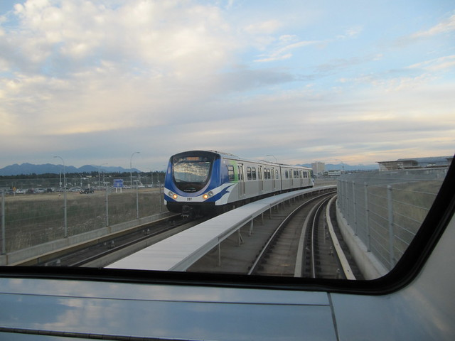 On Skytrain From Airport