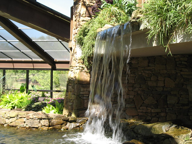 Waterfall Inside The Butterfly House Flickr Photo Sharing