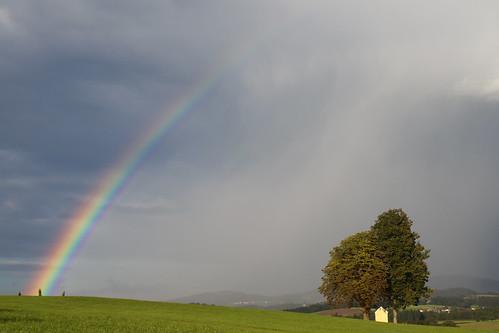 Atmosphärisch-optisches Phänomen - Regenbogen