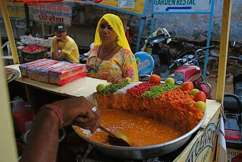 INDIAN STREET FOOD - UDAIPUR