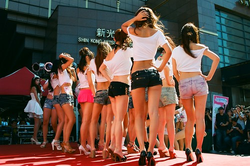 Beauty Contestants by Shanghai Sky