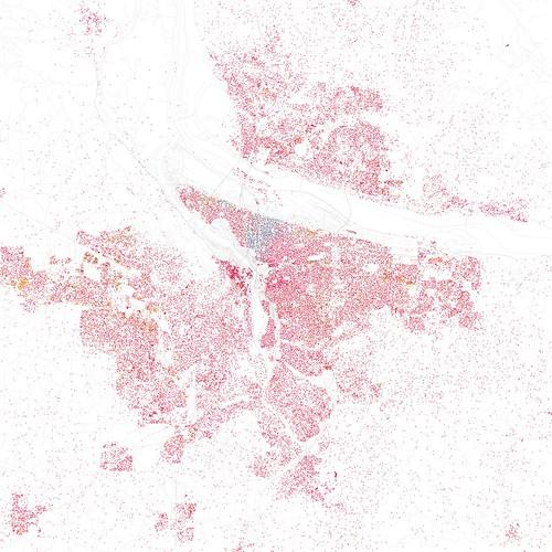 Race and ethnicity: Portland