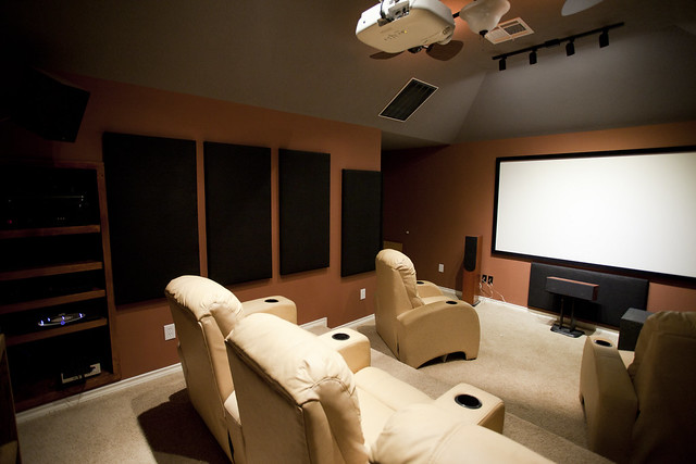 Home Theater, Almost Complete | Flickr - Photo Sharing!