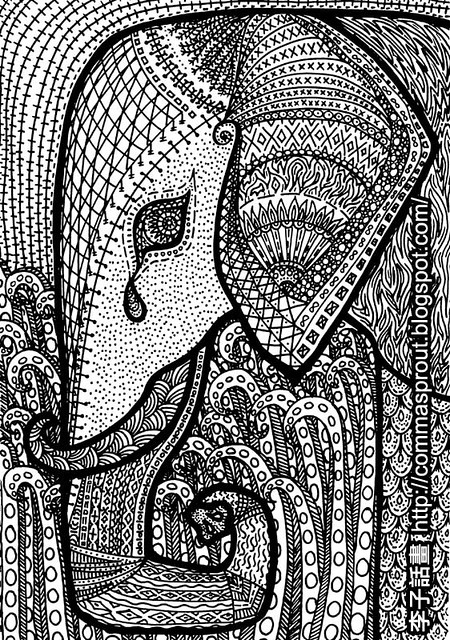 african patterns coloring pages - photo#19