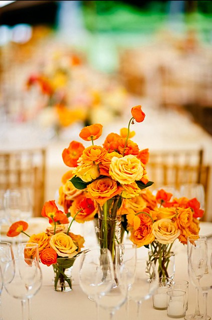Orange Roses-Pineapple Productions-Camille Styles Events