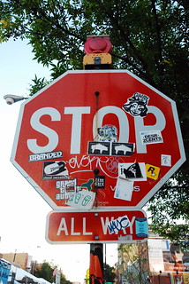 Stop!......and check out the stickers