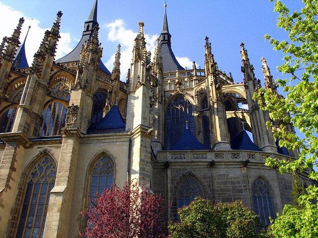 Santa Barbara cathedral. Kutna-Hora. Czech Republic