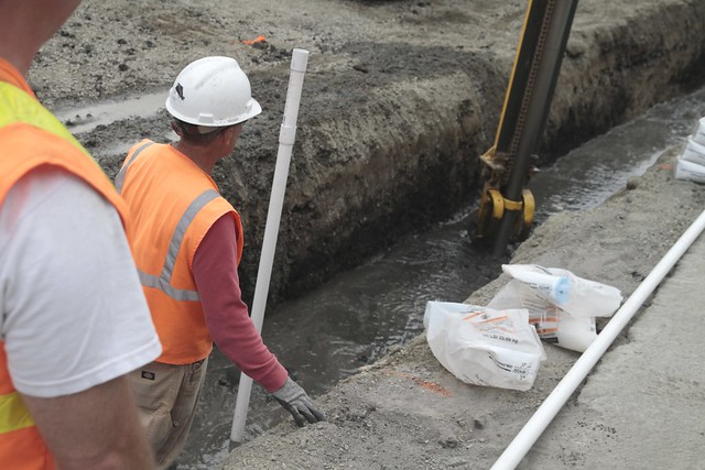 Dewatering system trench flickr photo sharing