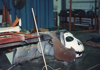 Pfalz D XII, fuselage restoration