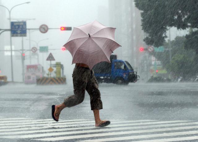 台灣夏季常有許多天然災害