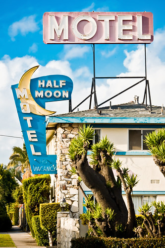 Half Moon Motel by Thomas Hawk