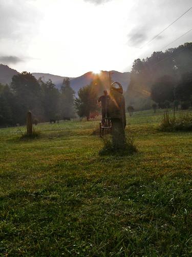 autumn mountains fall megalithic sunrise circle standingstones solarobservatory fallequinox ontono melystu