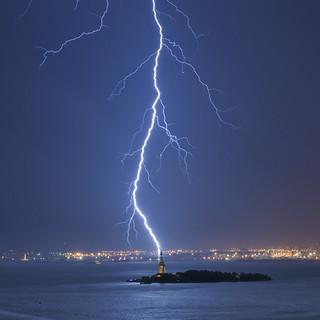 NY Harbor Wednesday Night