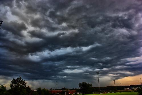 sunset sky sun storm skyline clouds canon mo xsi ftleonardwood lent454