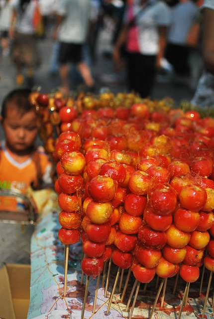 Chinese Candy Crab Apples Flickr Photo Sharing