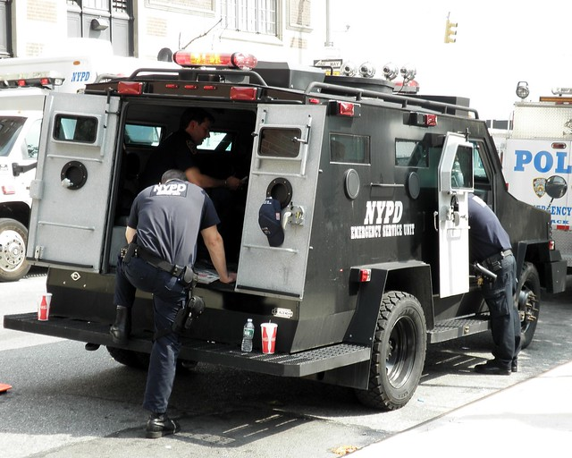 NYPD Police Emergency Service Unit  New York City   Flickr - Photo