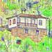 Outra casa no morro, acima da Rua Conselheiro Quintiliano em Ouro Preto-MG
