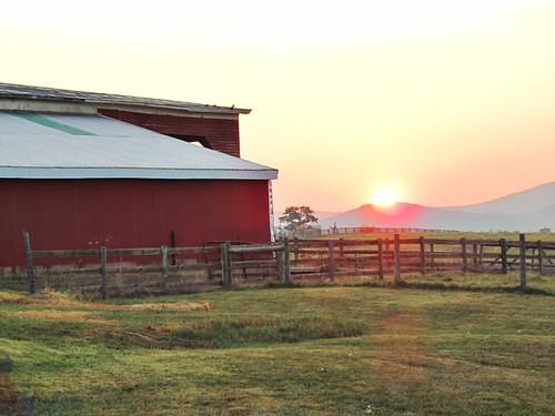 sunrise canon farm powershot virgina waynesboro