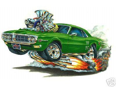 1968 Firebird Cartoon Explore Sixty8panther S Photos On